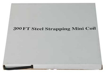 Value Brand 4WXT3 Steel Strapping, 5/8 In, L 300 Ft