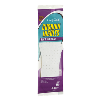 CareOne Cushion Insoles Men's - up to size 13