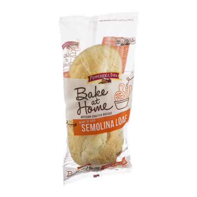 Pepperidge Farm® Bake At Home Artisan Crafted Breads Heart Of Gold Semolina Loaf