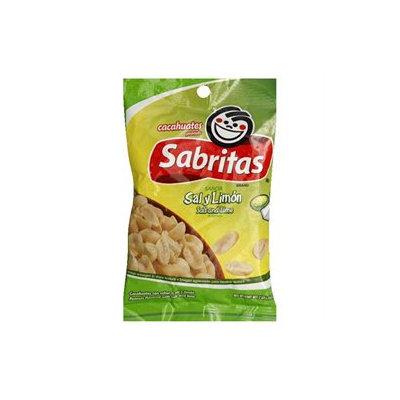 Sabritas Gamesa Salt And Lime Peanuts, 7 oz, - Pack of 12