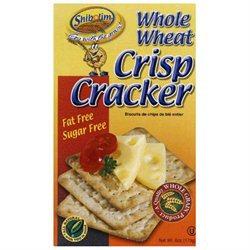 Shibolim Cracker Crisp Whole Wheat 6 Oz Pack Of 12