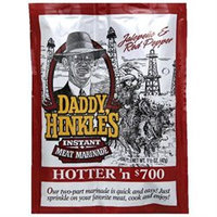 KeHe Distributors 56246 DADDY HINKLE SSNNG MARINADE HOTTER N 7 - Case of 24 - 1.5 OZ