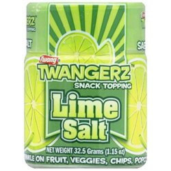 Twang Salt Shaker Flavored Lime 1.15 Oz Pack Of 320