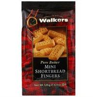 Walker's Walkers Shortbread Mini Finger 4.4 Oz Pack Of 6