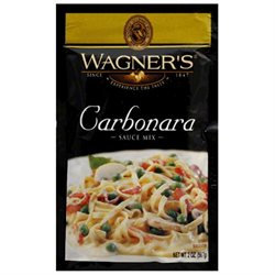 Wagner's Wagners Carbonara Sauce Mix, 2 oz, - Pack of 6