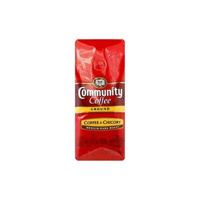 Community Coffee Medium-Dark Roast Ground Coffee Coffee & Chicory - 12 oz