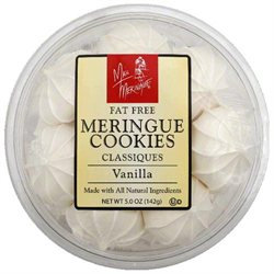 Miss Meringue Vanilla Cookies 5 Oz Pack Of 12