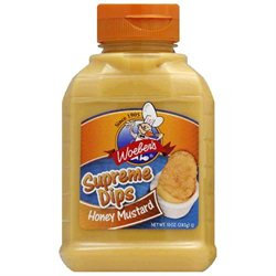 Woeber Honey Mustard Dip 10 Oz Pack Of 6