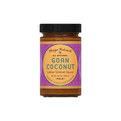 Maya Kaimal Indian Simmer Sauce Goan Coconut 12.5 oz