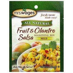 Mrs. Wages Create Fruit & Cilantro Salsa Mix, .8 oz, 12 pk