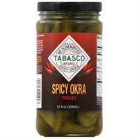 Tabasco Okra Pickled Spicy 12 Oz Pack of 12