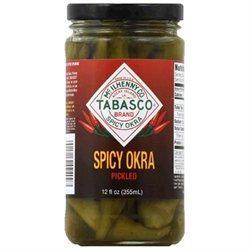 Tabasco Okra Pickled Spicy 12 Oz Pack of 12