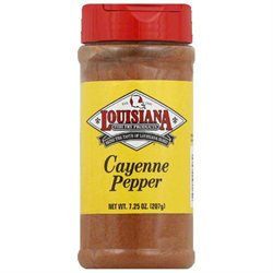 Louisiana Cayenne Pepper 7.25 Oz Pack Of 12