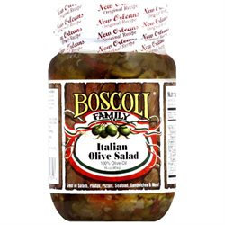 Kehe Distributors BOSCOLI 601815 BOSCOLI OLIVE SALAD ITAL OIL - Pack of 6 - 16 OZ