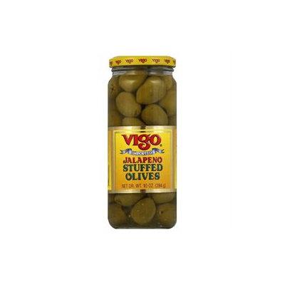 Kehe Distributors VIGO 76858 VIGO OLIVE STFD JLPNO - Case of 12 - 10 OZ