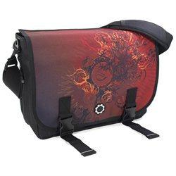 DadGear Messenger Diaper Bag w/ Graphics - Eastern Sun