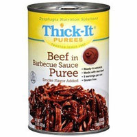 Thick-It Puree: Beef with Barbeque Sauce, Size:(1 case: 12 x 15 oz. cans)