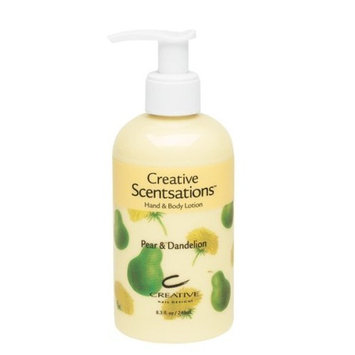 Cnd Cosmetics CND Creative Scentsations Hand & Body Lotion Pear & Dandelion - 8.3 oz