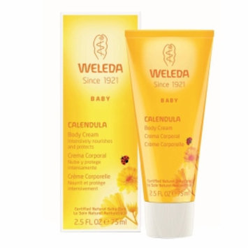Weleda Baby Calendula Body Cream, 2.5 fl oz