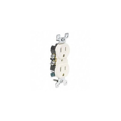 Leviton 303-5320-ICP Ivory Residential Grade Straight Blade Duplex Receptacle Receptacle