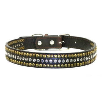 Hip Doggie HD-4DWC-XS Extra Small Diamond Winston Collar