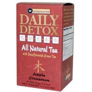 Wellements Daily Detox Apple Cinnamon 30 Bags