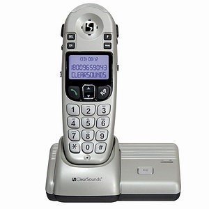ClearSounds Communications A55 Amplified Cordless Phone