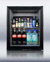 SUMMIT Thin-line minibar with silent operation and glass door