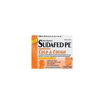 Sudafed PE Non-Drowsy, Multi-Symptom, Cold & Cough, Caplets 20 ea