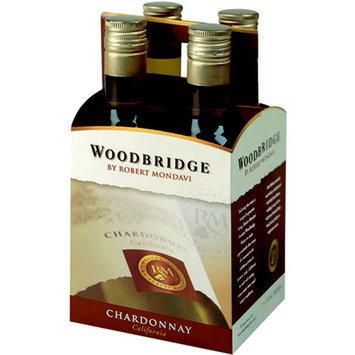 Woodbridge by Robert Mondavi Chardonnay, 187 ml, 4 count
