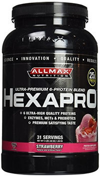 ALLMAX Nutrition HEXAPRO - Strawberry Milkshake