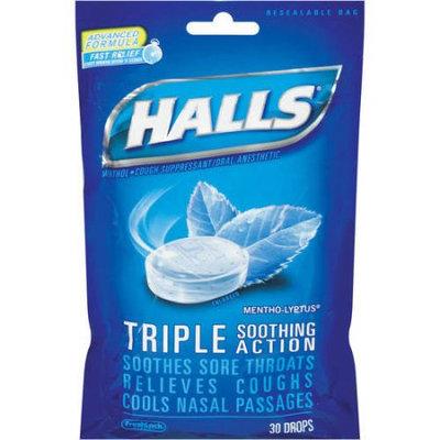 HALLS Menthol-Lyptus Drops