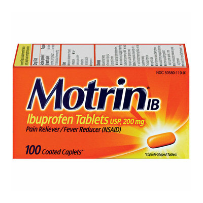 Motrin RECALL: Bubble Gum Flavor Children's Pain Reliever/Fever Reducer - 4 Oz
