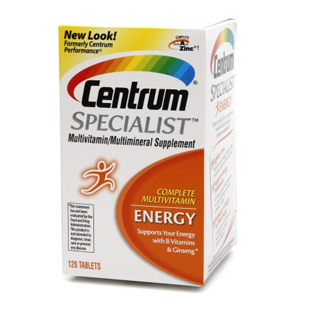 Centrum Specialist Complete Multivitamin: Energy