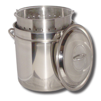 King Kooker Stainless Steel Boiling Pot, 36 qt.