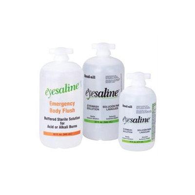 Sperian Protection Sperian Welding Protection Eyesaline Wall Station Refill Bottles - eyesaline 32 oz personaleyewash
