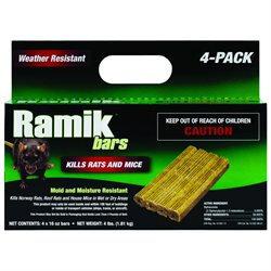 Neogen Rodenticide Ramik Bars Box 4 Poun003-116334
