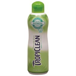 TropiClean Oatmeal and Tea Tree Pet Shampoo - 20 oz.
