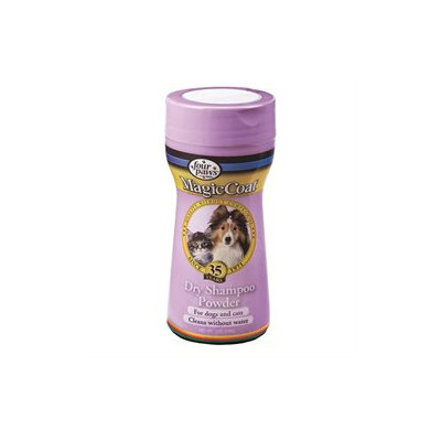 Magic Coat Four Paws Dry Shampoo Powder: For Dogs & Cats