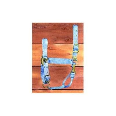 Hamilton Halter Company - Adjustable Chin Halter With Snap- Berry Small - 1DAS SMBY