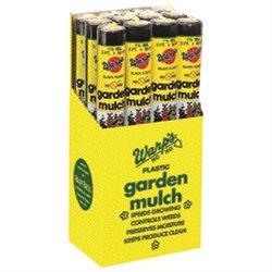 WARP BROTHERS Plastic Sheeting Garden Mulch Film 3' X 50'