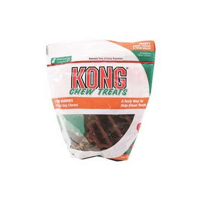 Kong Chew Buddies Large Variety Pack 4 Count