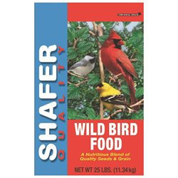 SHAFER SEED COMPANY BRAD CALD WILD BIRD SEED 25# 25 POUND