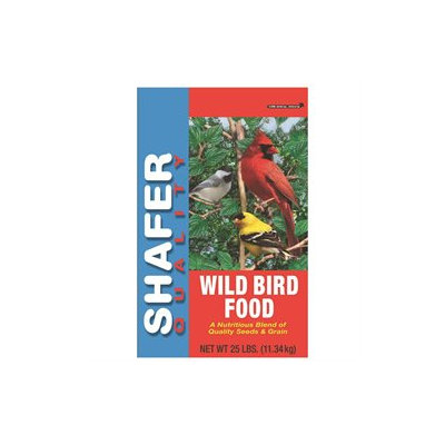 SHAFER SEED COMPANY BRAD CALD WILD BIRD SEED 25# 25 POUND
