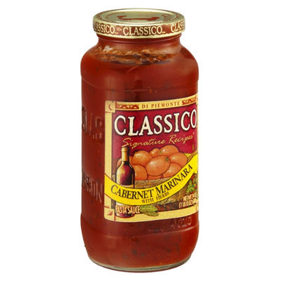 Classico Pasta Sauce Signature Recipes Cabernet Marinara with Herbs