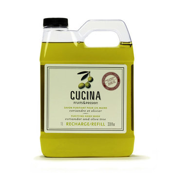 Cucina Coriander and Olive Tree Purifying Hand Wash Refill