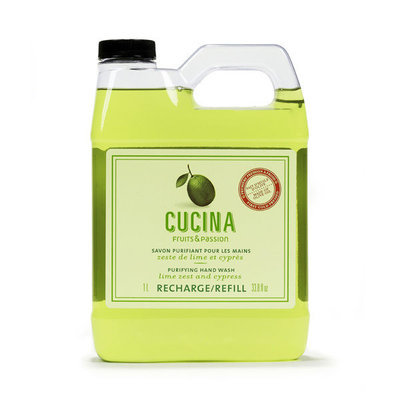 Cucina Lime Zest and Cypress Purifying Hand Wash Refill