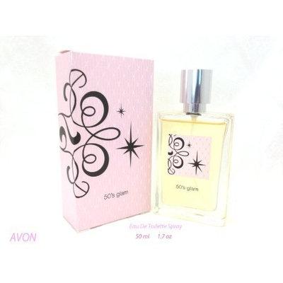 Avon 50's Glam Eau De Toilette Spray 1.7 Fl Oz