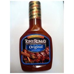 Tony Roma's: Original Barbecue Sauce, 21 oz