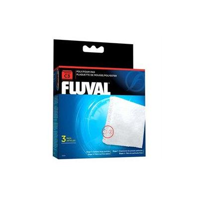 RC Hagen 14009 Fluval C3 Poly Foam Pad 3-pack